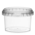 Afbeeldingen van TP Plastic pot rond 280ml met veiligheidssluiting inclusief deksel