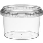 Afbeeldingen van TP Plastic pot rond 565ml met veiligheidssluiting inclusief deksel