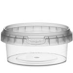 Afbeeldingen van TP Plastic pot rond 180ml met veiligheidssluiting inclusief deksel